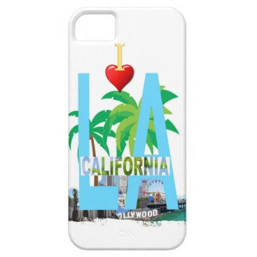 Beach Themed los angeles  l a california city usa america iPhone SE/5/5s case