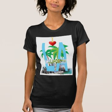 Beach Themed los angeles  l a california city usa america T-Shirt