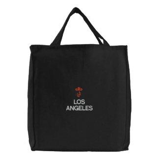 LOS ANGELES, LA BLACK TOTE BAG