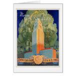 Los Ángeles, la ciudad de la maravilla Tarjeta De Felicitación