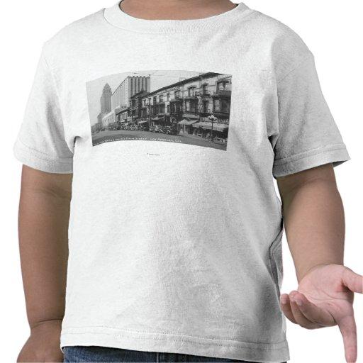 Los Ángeles, la oficina de correos de CA y tubería Camiseta