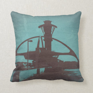 Los Angeles LAX Airport Throw Pillow
