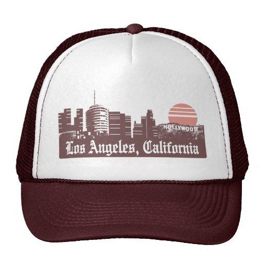 Los Angeles Linesky Trucker Hat
