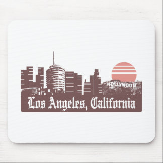 Los Angeles Linesky Mouse Pad