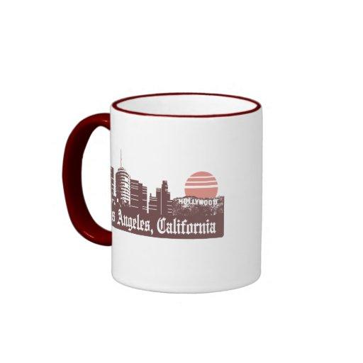 Los Ángeles Linesky Tazas De Café