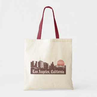 Los Angeles Linesky Tote Bag