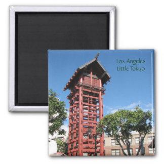 Los Angeles - Little Tokyo Magnet! 2 Inch Square Magnet