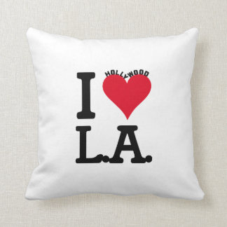 Los Angeles LOVE Hollywood Edition Throw Pillow