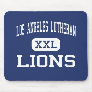 Los Angeles Lutheran - Lions - High - Sylmar Mouse Mat