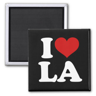 Los Angeles 2 Inch Square Magnet