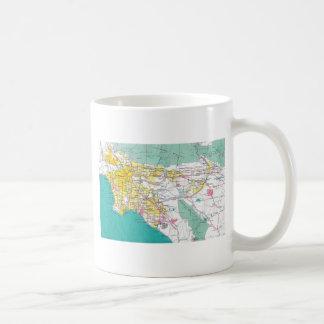 Los Angeles Map Coffee Mug