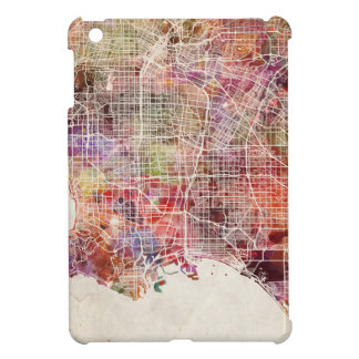 Los Angeles map Cover For The iPad Mini