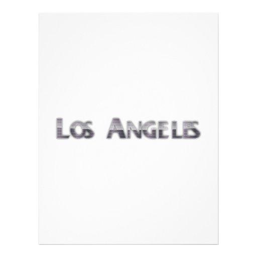 Los Ángeles Membrete A Diseño