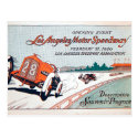 Los Angeles Motor Speedway Postcard