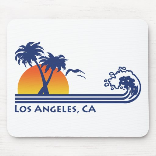 Los Angeles Mouse Pads
