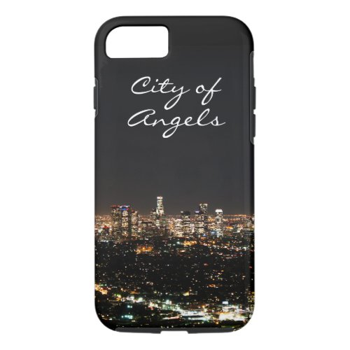 Los Angeles Night iPhone 87 Case