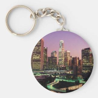 Los Angeles Night Lights Keychain
