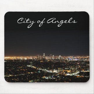 Los Angeles Night Mouse Pad