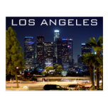 Los Angeles Night Paper Products Post Card