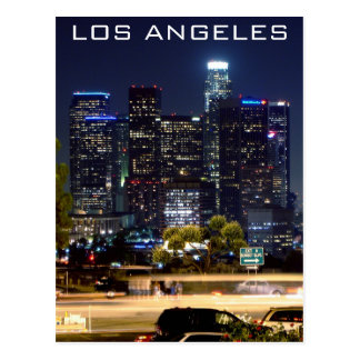 Los Angeles Night Paper Products Post Cards