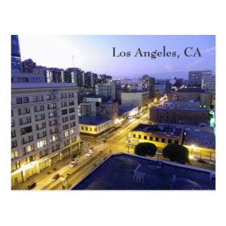 Los Angeles Night Postcard!