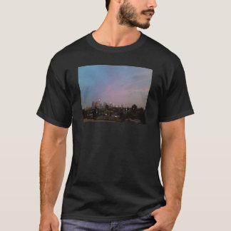 los angeles night sunset downtown, echo park T-Shirt