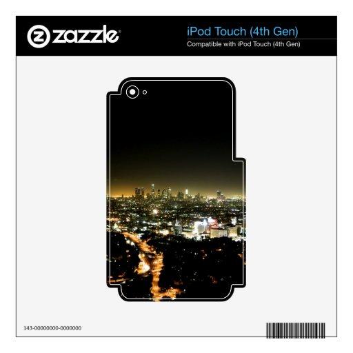 Los Ángeles, noche hermosa de CA Skins Para iPod Touch 4G