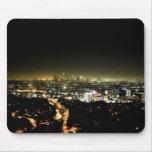 Los Ángeles, noche hermosa de CA Alfombrillas De Ratón