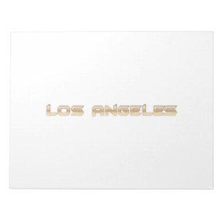 Los Angeles Memo Pad