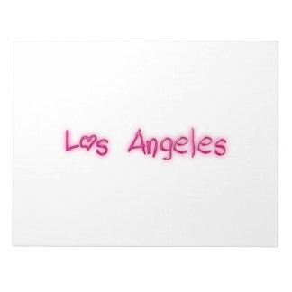 Los Angeles Memo Notepad