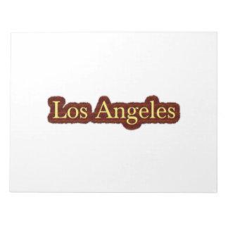 Los Angeles Memo Note Pad