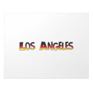 Los Angeles Notepads