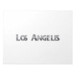 Los Angeles Note Pad