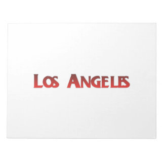 Los Angeles Note Pads