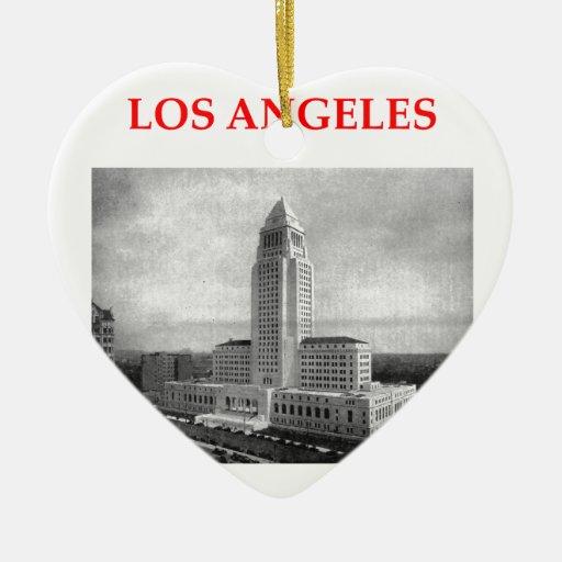 Los Ángeles Ornamento De Navidad
