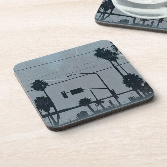 Los Angeles Palm Trees Beverage Coaster