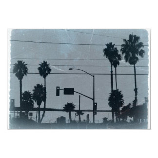 Los Angeles Palm Trees Card