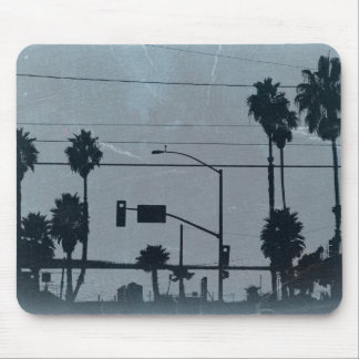 Los Angeles Palm Trees Mouse Pad