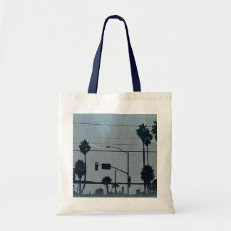 Los Angeles Palm Trees Tote Bag