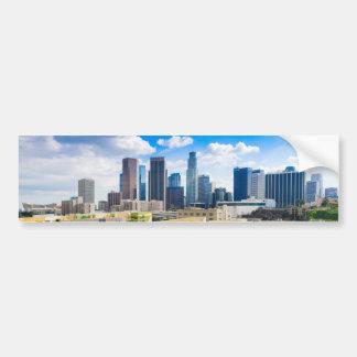 Los Angeles Panorama Bumper Sticker