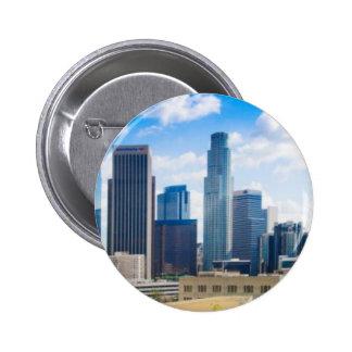 Los Angeles Panorama Pinback Button