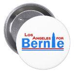 Los Ángeles para Bernie Pin Redondo De 3 Pulgadas