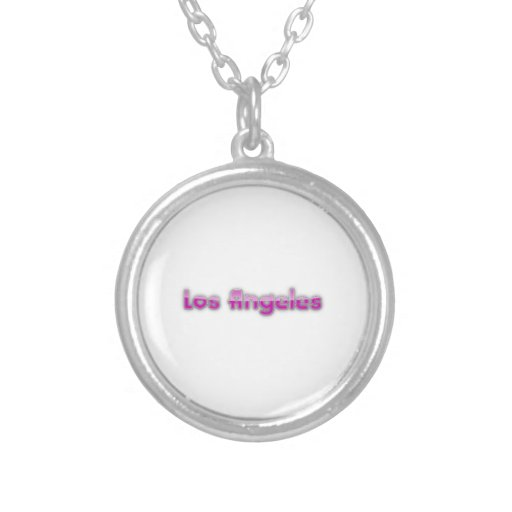 Los Angeles Personalized Necklace