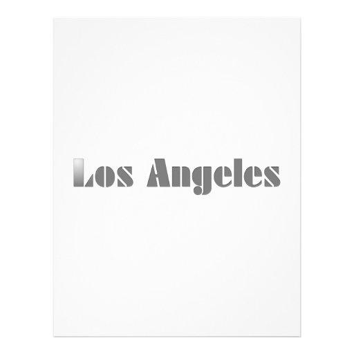 Los Ángeles Plantillas De Membrete