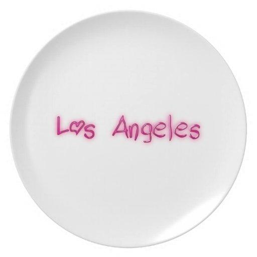 Los Angeles Plates