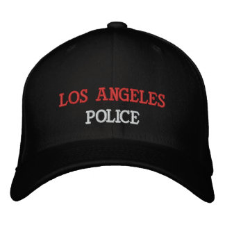 LOS ANGELES, POLICE EMBROIDERED BASEBALL CAP