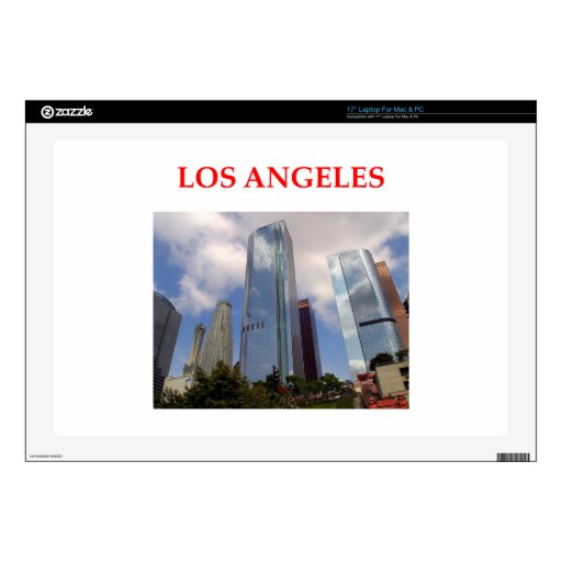 Los Ángeles Portátil 43,2cm Skins