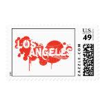 Los Angeles Postage Stamp