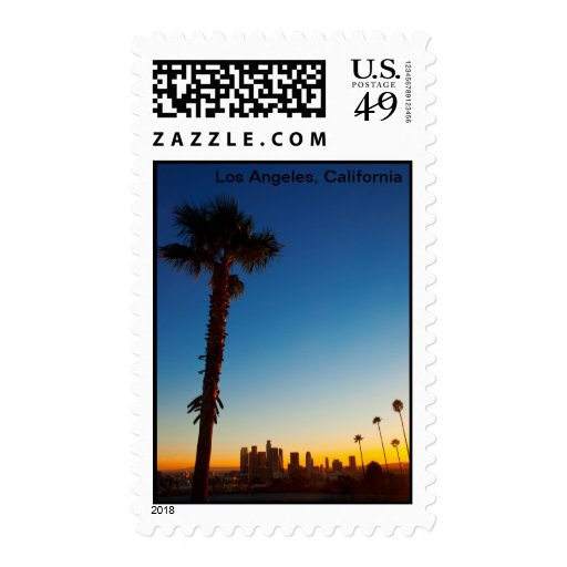 Los Angeles Postage Stamps