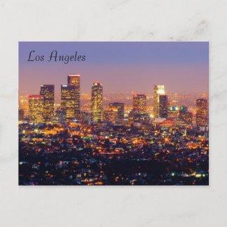 Los Angeles Postcard postcard